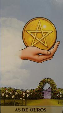Consulta de Tarot Ás de Ouros