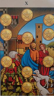 Consulta de Tarot Dez de Ouros