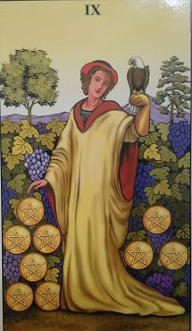 Consulta de Tarot Nove de Ouros