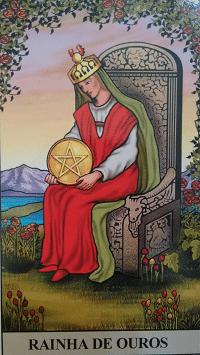 Consulta de Tarot Rainha de Ouros