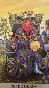 Consulta de Tarot Rei de Ouros