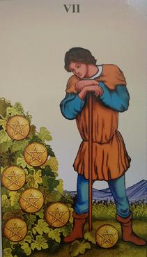 Consulta de Tarot Sete de Ouros