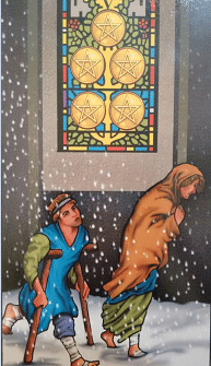 Consulta de tarot Cinco de Ouros